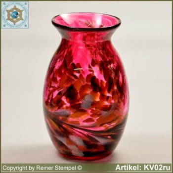 Glass vase pitcher vase decorative in color and shape KV02ru