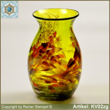 Glass vase pitcher vase decorative in color and shape KV02zg