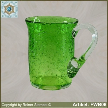 Forest glass tankard FWB06