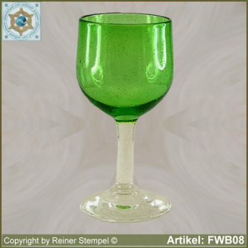 forest glass wine glass historical replica