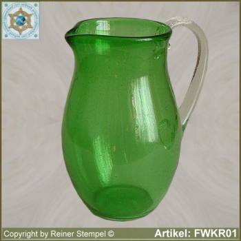 Forest glass pitcher FWKR01
