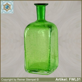 forest glass bottle box historical replica