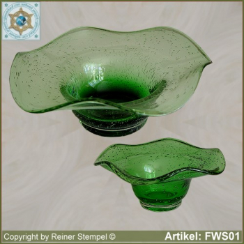 Forest glass bowl historical replica