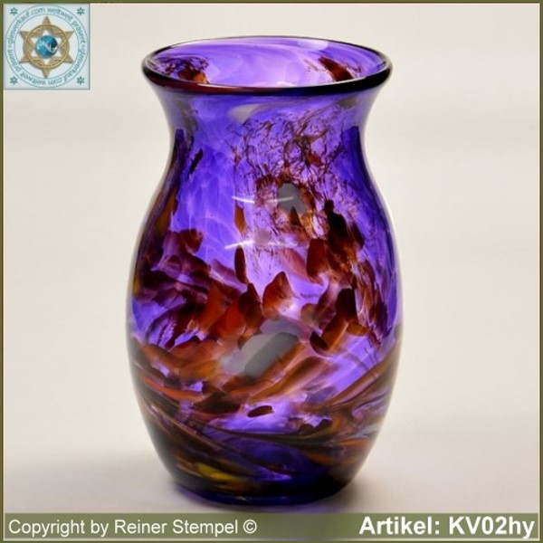 Glass vase pitcher vase decorative in color and shape KV02hy