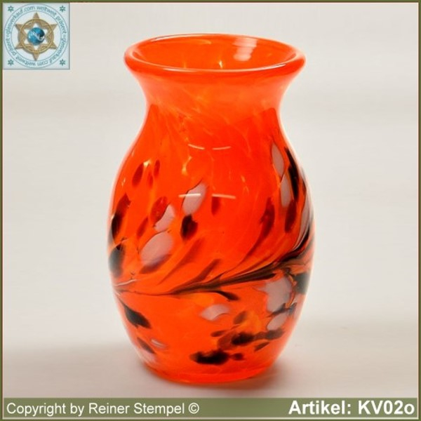 Glass vase pitcher vase decorative in color and shape KV02o