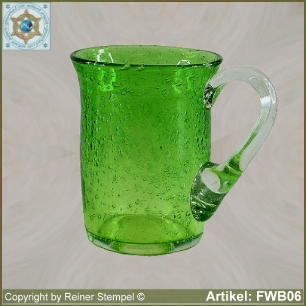 Forest glass tankard historical replica