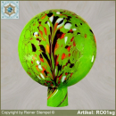 Roses ball, garden ball made of glass RO01sg